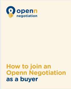 How to join an Openn Negotiation as a buyer