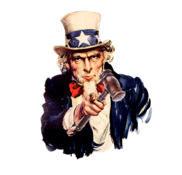 openn auctioneers Uncle-sam-with-gavelroundsmall