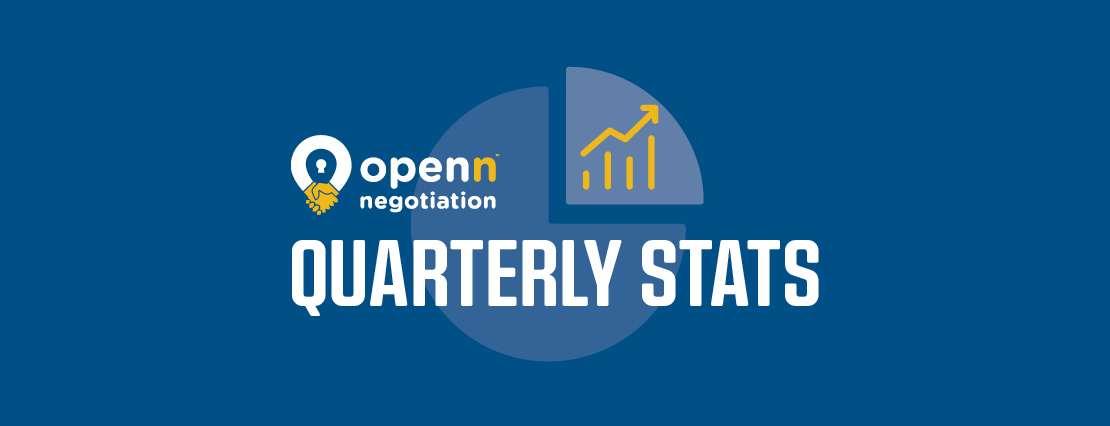 Openn Negotiation quarterly agent statts